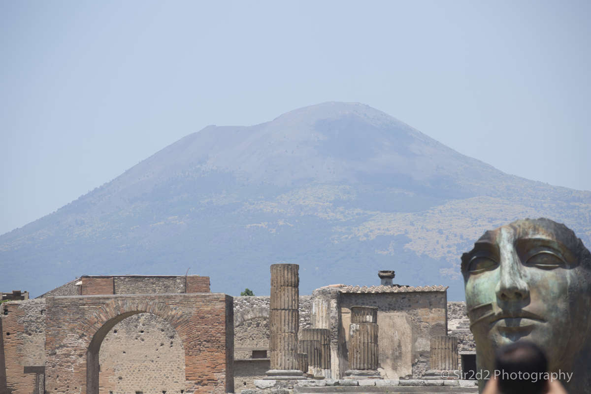 Pompeii - A scenic view