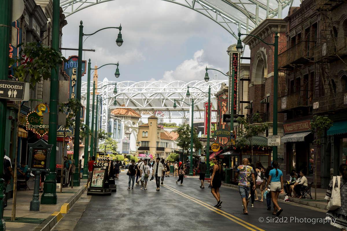 Universal studios , Singapore