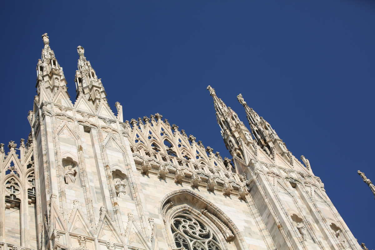 Duomo church in Milan