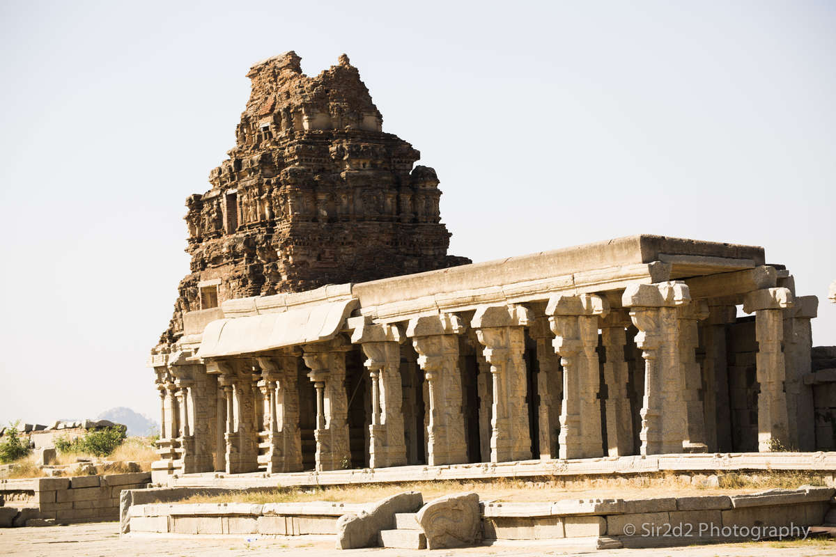 Temple structure in Hampi