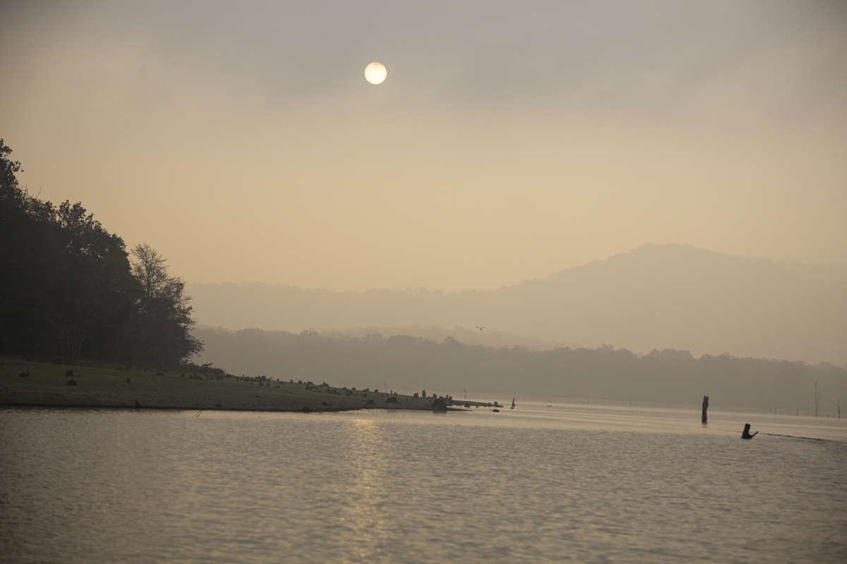 Sunrise at Kabini